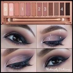 Urbandecay Naked 3 Tutorial