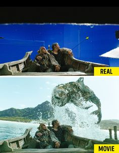 20 Shots Revealing How Famous Movies Changed After Special Effects – Viral News Room Dawn Of The Planet, Planet Of The Apes, Real Movies, Famous Movies, The Shape Of Water, Crimes Of Grindelwald, Home For Peculiar Children, Days Of Future Past, Boardwalk Empire