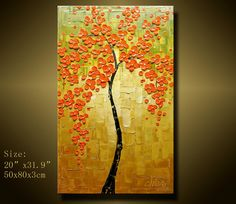 Original Abstract Painting Modern Textured Painting by xiangwuchen, $149.00