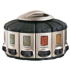 Amazon has the KitchenArt 57010 Select-A-Spice Auto-Measure Carousel Professional Series, Satin marked down from $45.95 to $28.99 and it ships for free with your Prime Membership or any $25 purchase. 8.25 x 9 x 6.5 inch, each canister holds 4.5 oz. each Made of durable plastic with a beautiful champagne satin finish Get the exact…
