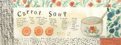 Love the illustration & colors. Can't wait to try the soup. Yum :-)