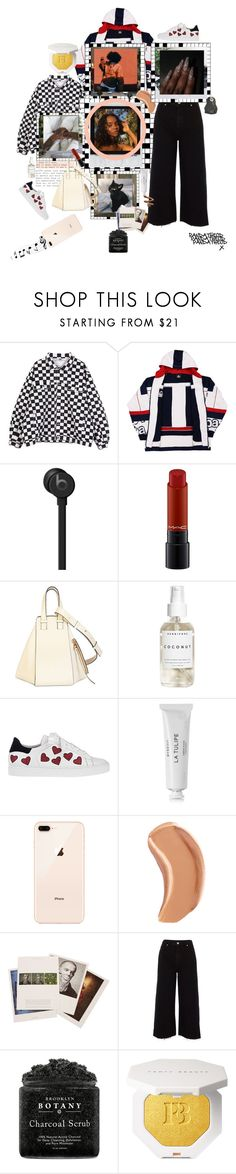 """""""It's just one of those days: Relax Look"""" by pandatheod ❤ liked on Polyvore featuring Beats by Dr. Dre, MAC Cosmetics, Loewe, Herbivore, Steffen Schraut, Byredo, NARS Cosmetics, River Island and Proenza Schouler"""