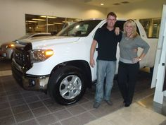 Adorable Newlyweds Kris U0026 Chris With Their 2014 Tundra Beauty! Welcome To  The David Maus Toyota Family!