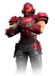 Tekken Force Alternate Costume from Tekken Mobile