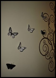 Butterflies! Butterfly, Wall Art, Home Decor, Decoration Home, Room Decor, Home Interior Design, Butterflies, Home Decoration, Wall Decor