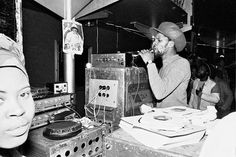 """vinylespassion:  Jah Shaka sound system live at the Albany Empire in Deptford, London 1984.  """
