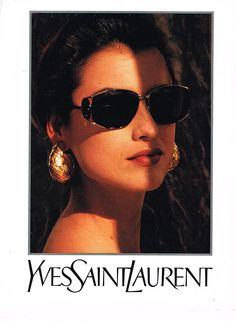 - Helena Barquilla for Yves Saint Laurent, 1992 Classy Aesthetic, Aesthetic Vintage, Vintage Ysl, Vintage Fashion, Vintage Frames, Retro Vintage, Yves Saint Laurent, Images Esthétiques, Mode Chanel