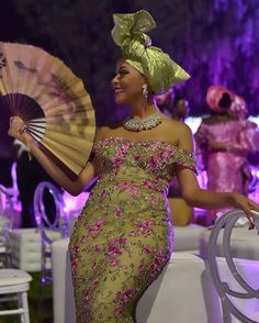 Munaluchi Bride | This green and pink color combination is...