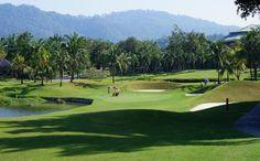 Unknown golf course in Thailand