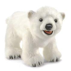 Folkmanis Polar Bear Cub