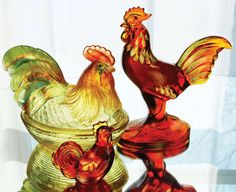 Fenton Hen On Nest | ... from Fenton USA. To locate a Fenton dealer near you, click here