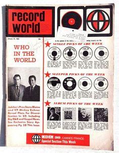 Record World Magazine (1-25-69)