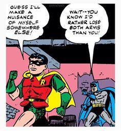 Omg thats so cute - batdad Comic Book Characters, Marvel Characters, Comic Character, Comic Books, Comic Art, Im Batman, Batman Comics, Dc Comics, Comic Superheroes