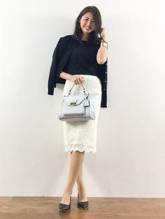 オフィスのキレイなお姉さん♪秋冬のファッションアンサンブルコーデ術を集めました!
