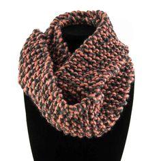 Peach Twist - Handmade by Primrose Cowls, Infinity, Scarves, Peach, Warm, Handmade, Fashion, Scarfs, Moda