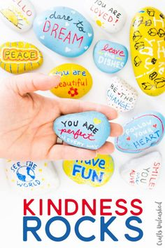 Teach the kids an important lesson in random acts of kindness. Follow these easy directions to make your own Kindness Rocks!