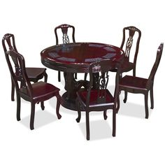 Chinese Rosewood Dining Table And Chairs Adams Plastic Adirondack Lowes 134 Best Sets Images In 2019 Diners Room 48in Round Mother Pearl Set With 6 Triple Coins Motif China Furniture Online