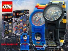 Noch mehr #Lego #Kinderuhren mit Charakteren aus den #DCComics wie #Batman und #Superman jetzt auf Imppac. Dc Comics, Superman, Batman, Lego Watch, Watches Online, Famous Brands, Jewelery