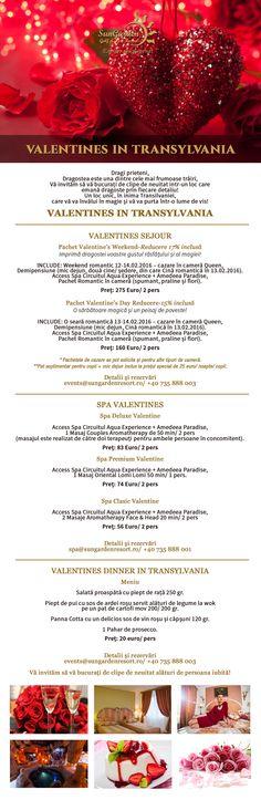 Valentines in Transylvania - SunGarden Golf & Spa Resort Prosecco, Resort Spa, Valentines, Day, Circuit, Celebrations, Explore, Amazing, Places