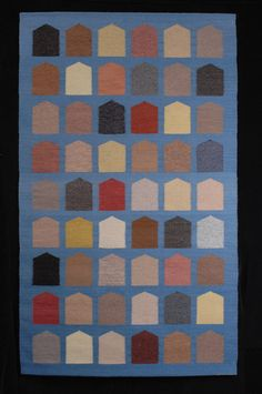 "Michael F. Rohde (USA), ""Sustainability 2007"" 66"" x 39"" woven tapestry, ATB 8"