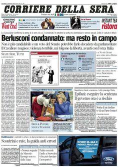 Il Corriere della Sera (02-08-13) Italian | True PDF | 44 pages | 11,3 Mb