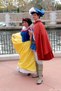 Snow White and The Prince by disneylori, via Flickr