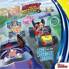 Mickey and the Roadster Racers Race for the Rigatoni Ribbon!: Disney Book Group, Disney Storybook Art Team: 9781484743348: Amazon.com: Books