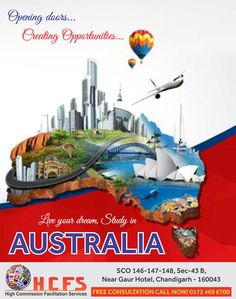Best Opportunity to study in Australia. Contact Immediately HCFS…