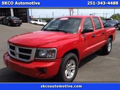 Used 2011 Dodge Dakota BIGHORN/LONGSTAR for Sale in Mobile AL 36608 SKCO Automotive