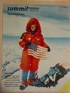 """stacy alison, first american woman to climb mt everest -- For use with Jon Krakauer's """"Into Thin Air"""" (non-fiction)"""