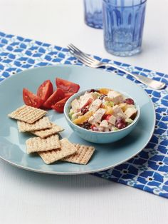 """Fruited Chicken Salad from the NEW """"The Perfect Diabetes Comfort Food Cookbook,"""" by Robyn Webb"""