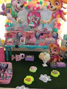Org paw patrol в 2019 г. Girl Paw Patrol Party, Sky Paw Patrol, Paw Patrol Birthday Decorations, Paw Patrol Birthday Theme, Birthday Party For Teens, Birthday Party Themes, Girl Birthday, Birthday Cake, Happy Birthday
