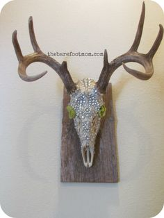 deer head bling mount