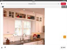 Kitchen Ideas, Kitchen Cabinets, Home Decor, Decoration Home, Room Decor, Cabinets, Home Interior Design, Dressers, Home Decoration