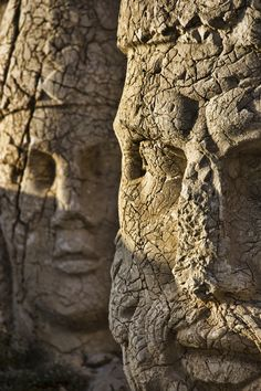 Nemrut statue heads Turkey