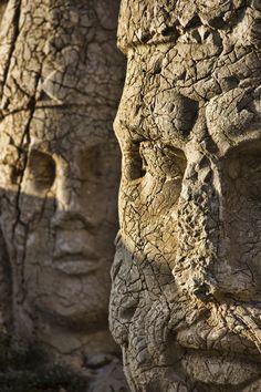Nemrut statue heads Turkey