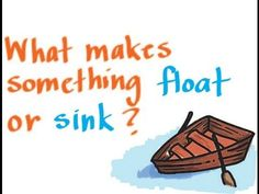 Week 1...Buoyancy: What Makes Something Float or Sink? - YouTube