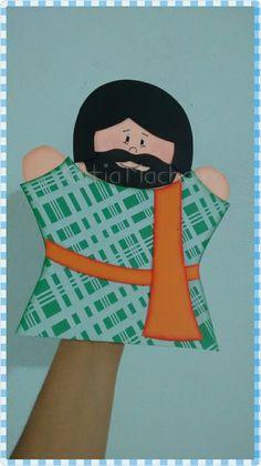 fantoche personagem biblico (somente frente)