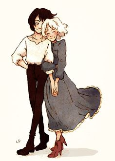 Howl and Sophie ;)