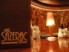 Named after what many consider to be the world's first mixed drink, The Sazerac Bar carries with it as much history and lore as its potable namesake. Just gazing at the famous Paul Ninas murals that flank the long African walnut bar takes you back to the grandeur of old New Orleans.  Restored to reflect the spirit of the original establishment.  Image source:  umamimart.com/text source:  Roosevelt Hotel