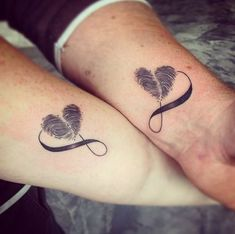 Tattoo ideas for girls and women and for those who love body art! Tattoo artist from all over the world! #tattoosforcouples