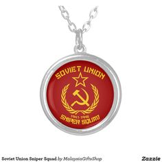 Soviet Union Sniper Squad Jewelry