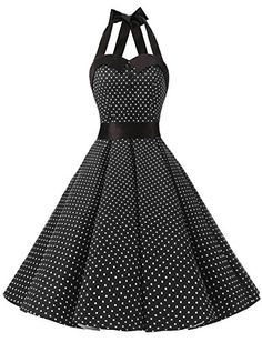 Dressystar Vintage Polka Dot Retro Cocktail Prom Dresses Rockabilly Bandage Black XS Great for prom wedding bridesmaid birthday theme party, a rock n roll party, punk swing polka prom, lolita minnie mouse costume cosplay club wear psychbilly. Retro Prom Dress, 50s Dresses, Pretty Dresses, Rockabilly Dresses, 50s Rockabilly, Homecoming Dresses, Evening Dresses, Bridesmaid Dresses, Vintage Outfits