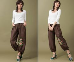 Modern Chinese Style: Comfortable Peony (Brown/ Black/ Blue) $75.00 (56,51 €)