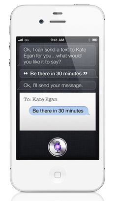 The iPhone 4S and Siri.