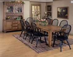 Treasures Dining Room Furniture by Liberty Furniture at Wholesale Furniture Brokers Canada. This extension dining table set features an extra large dining table with two 18 Royal Furniture, Liberty Furniture, Dining Room Furniture, Wolf Furniture, Cheap Furniture, Furniture Mattress, Refinished Furniture, Furniture Nyc, Furniture Companies