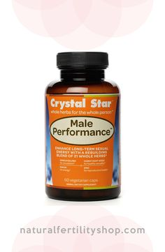 Male Performance offers a blend of energy boosting herbs that help support male reproductive health and erectile ability.  #fertility #infertility #ttc #ttcsisters #fertilityherbs #naturalfertility #NaturalFertilityShop #NaturalFertilityInfo