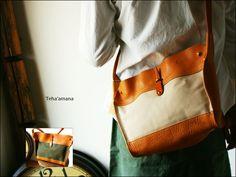 TEHA'AMANA KATARA 2Way Shoulder Bag size S