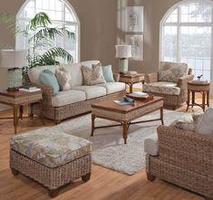 Sunroom Furniture, Best Outdoor Furniture, Rattan Furniture, Custom Furniture, Living Room Furniture, Home Furniture, Furniture Design, Rattan Sofa, Coastal Furniture