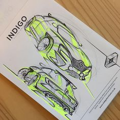"""161 Likes, 1 Comments - Ashley Knight (@ashley_niall) on Instagram: """"Some mini pad work :). #astonmartin #car #design #sketch #transportdesign #transportationdesign…"""""""